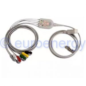 Philips 5-lead Grabber IEC Original Medical Trunk and Lead Cable Set 989803143191 Original Medical Accessory 06201