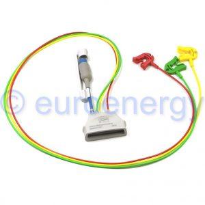 Philips Patient Cable ECG 3-lead Grabber IEC + SpO2 989803171911 Original Medical Telemetry Lead Set 06220