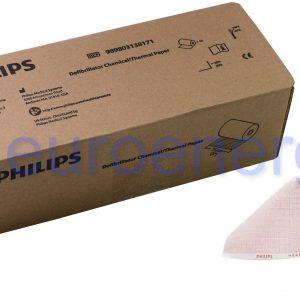 Philips MRx Wide Printer Defibrillator Recording Paper Original Medical Accessory 989803138171 06760