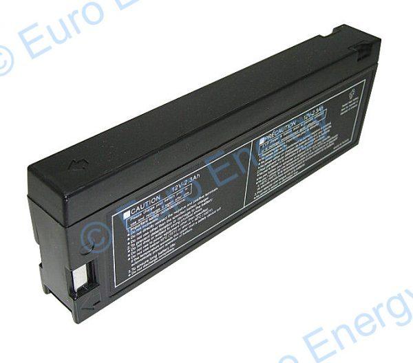 12 Volt 2.3Ah AGM Sealed Lead Acid Battery 04231