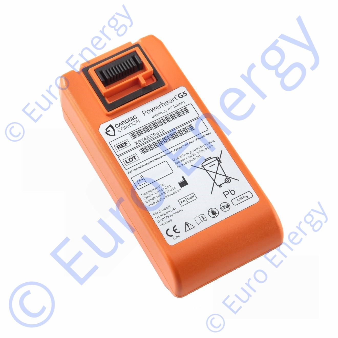 Cardiac Science Powerheart AED G5, XBTAED001A Original Medical Battery 02284