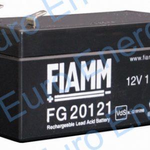Fiamm FG20121AGM Sealed Lead Acid Battery 04257