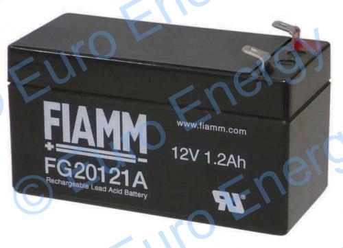 Fiamm FG20121AAGM Sealed Lead Acid Battery 04272