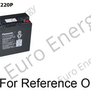 Panasonic LC-P1220P Sealed Lead Acid battery 04247