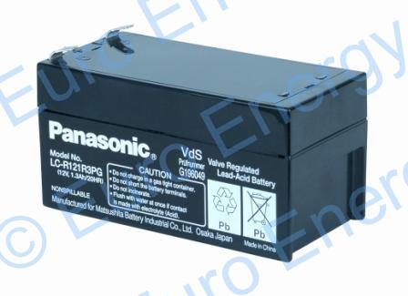 Panasonic LC-R121R3PGAGM Sealed Lead Acid Battery 04728