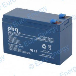 PBQ 10-12 LiFePO4 12.8v 10Ah Lithium Ferro Phosphate Battery 04726