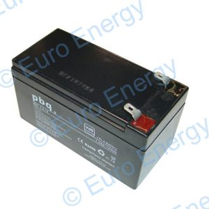 PBQ 1.2-12 VdS AGM Sealed Lead Acid Battery 04260
