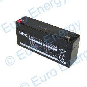 PBQ 3.2-6 Lead Acid Battery 04109