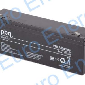 PBQ 4-12 AGM Sealed Lead Acid Battery 04219
