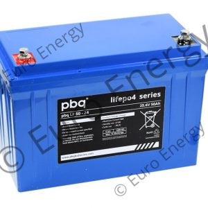 PBQ 50-24 LiFePO4 Battery