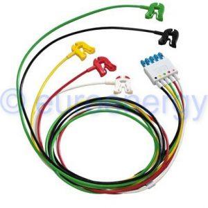 Philips Cable 5-lead Grabber IEC, ICU Lead Set M1971A / 989803125851