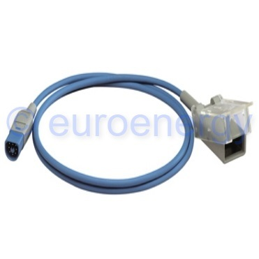 Philips Multi patient 8-pin to 9-pin D-sub Pulse Oximetry Adapter Cable Original Medical Accessory M1943AL / 989803128651 06045