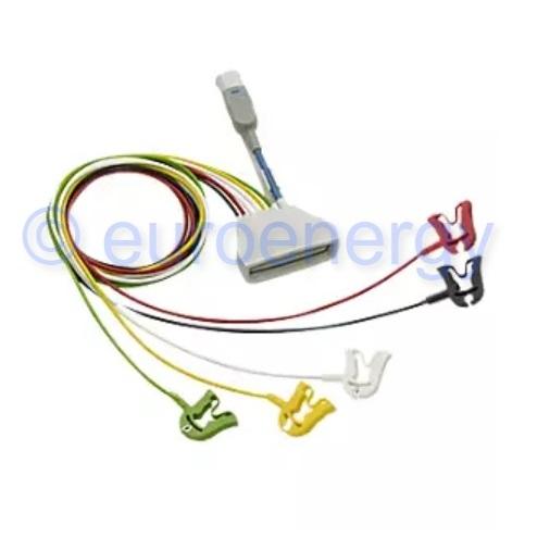 Philips Patient Cable ECG 5-lead Grabber IEC + SpO2 Original Medical Telemetry Lead Set Accessory 989803171951 06188