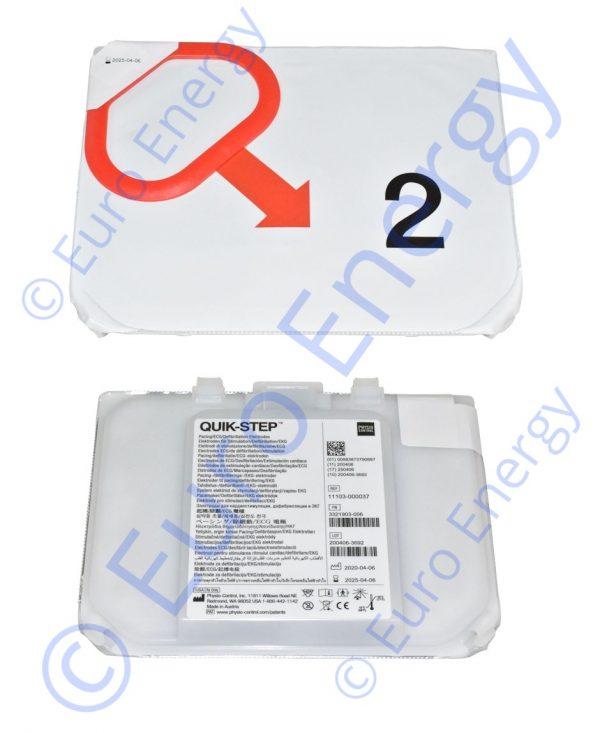 Physio Control Lifepak CR2 11101-000021 Original Electrode Kit 06740