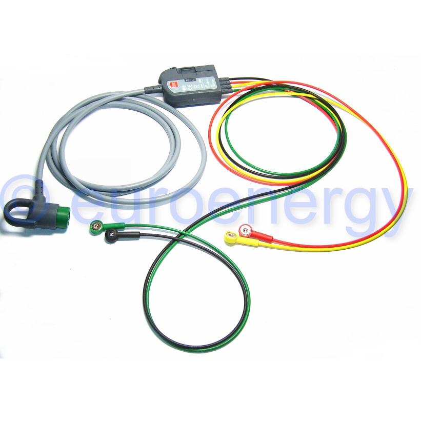 Physio-Control Lifepak 12 / 15 12-Lead ECG Original Medical Trunk Cable With 4 Wire IEC Limb Lead 11111-000019