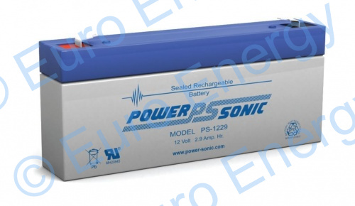 Powersonic PS-1229AGM Sealed Lead Acid Battery 04216