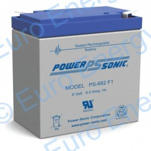 Powersonic PS-682AGM Sealed Lead Acid Battery 04227