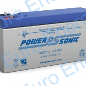 Powersonic PS-832 AGM Sealed Lead Acid Battery 04278