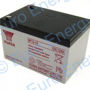 Yuasa NP12-12 AGM Sealed Lead Acid Battery 04128