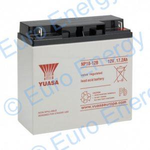 Yuasa NP18-12B AGM Sealed Lead Acid Battery 04162