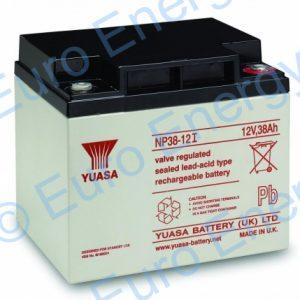 Yuasa NP38-12 AGM Sealed Lead Acid Battery 04141
