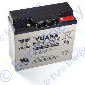 Yuasa REC22-12I AGM Sealed Lead Acid Battery 04123