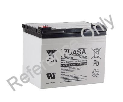 Yuasa REC36-12 AGM Sealed Lead Acid Battery 04194