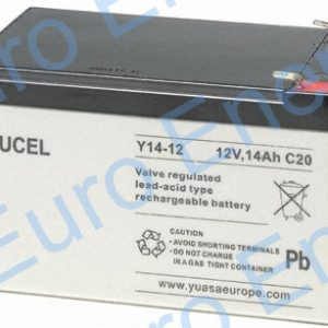 Yuasa Yucel Y14-12 AGM Sealed Lead Acid Battery 04161