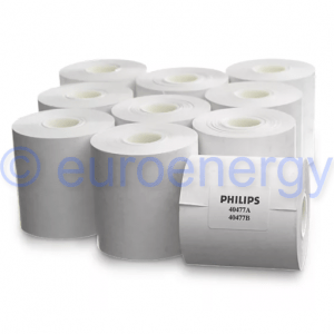 Philips Thermal Array Recorder Paper - 10 Rolls 40477A / 989803101571 Original Medical Accessory 06567