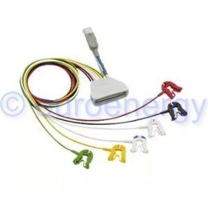 Philips Patient Cable ECG 6 Lead Grabber IEC+SpO2, Telemetry Lead Set 989803171971 Original Medical Accessory 06196