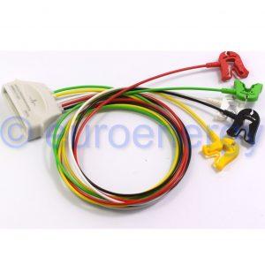 Philips Patient Cable ECG 5-Lead Grabber IEC Telemetry Lead Set 989803171931 Original Medical Accessory 06202
