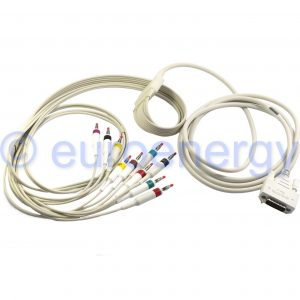 Philips PageWriter TC10 10 Lead IEC ECG Patient Cable 989803184921 Original Medical Accessory 06211