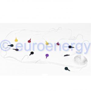 Philips Large SV Patient Cable 10 lead (IEC) Diagnostic ECG 989803137671 Original Medical Accessory