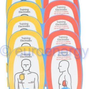 Physio Control Lifepak CR Plus Training Electrodes QUIK-PAK (5 Pack) 11250-000015 Original Medical Accessory 06709