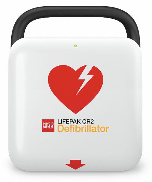 Physio Control Lifepak CR2 Semi Automatic AED 99512-001227 Original Medical Device 06943
