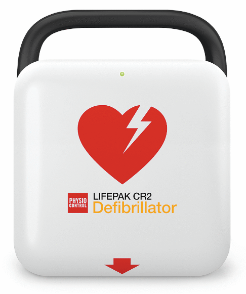 Physio Control Lifepak CR2 Fully Automatic AED 99512-001229 Original Medical Device 06944